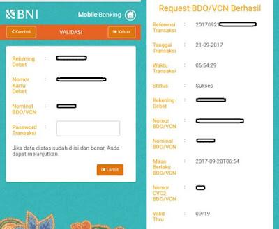 Cara Menggunakan BNI Debit Online Lewat Mobile Banking BNI
