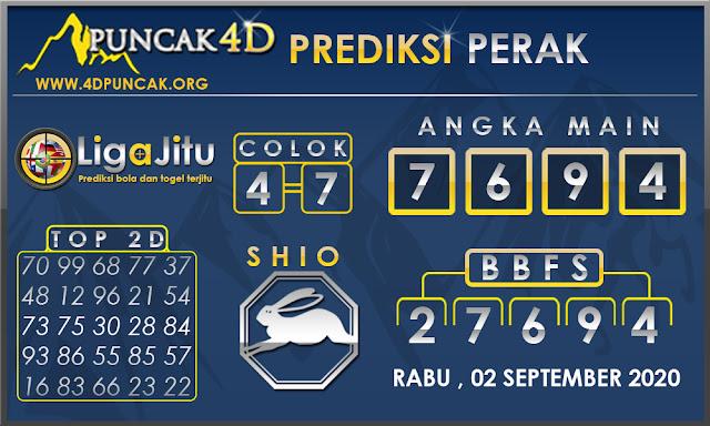 PREDIKSI TOGEL PERAK PUNCAK4D 02 SEPTEMBER 2020