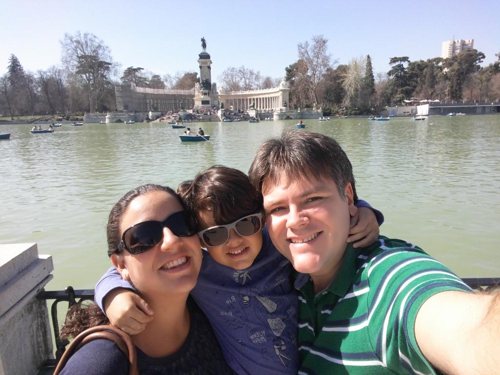 parque El Retiro, em Madri