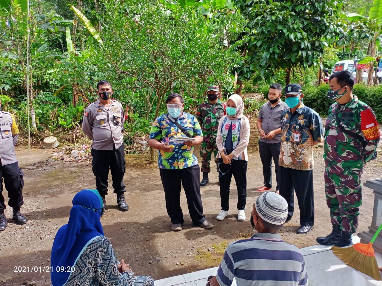 TKI Pulang Kampung, Polsek Randuagung Lakukan Tracing