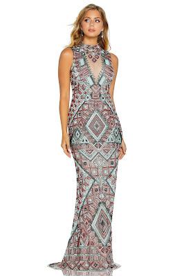Body Conscious Prom Dress Amarra Multi Color