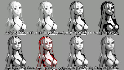 Sketchy - Toon Edge and Art Style Shaders for Iray