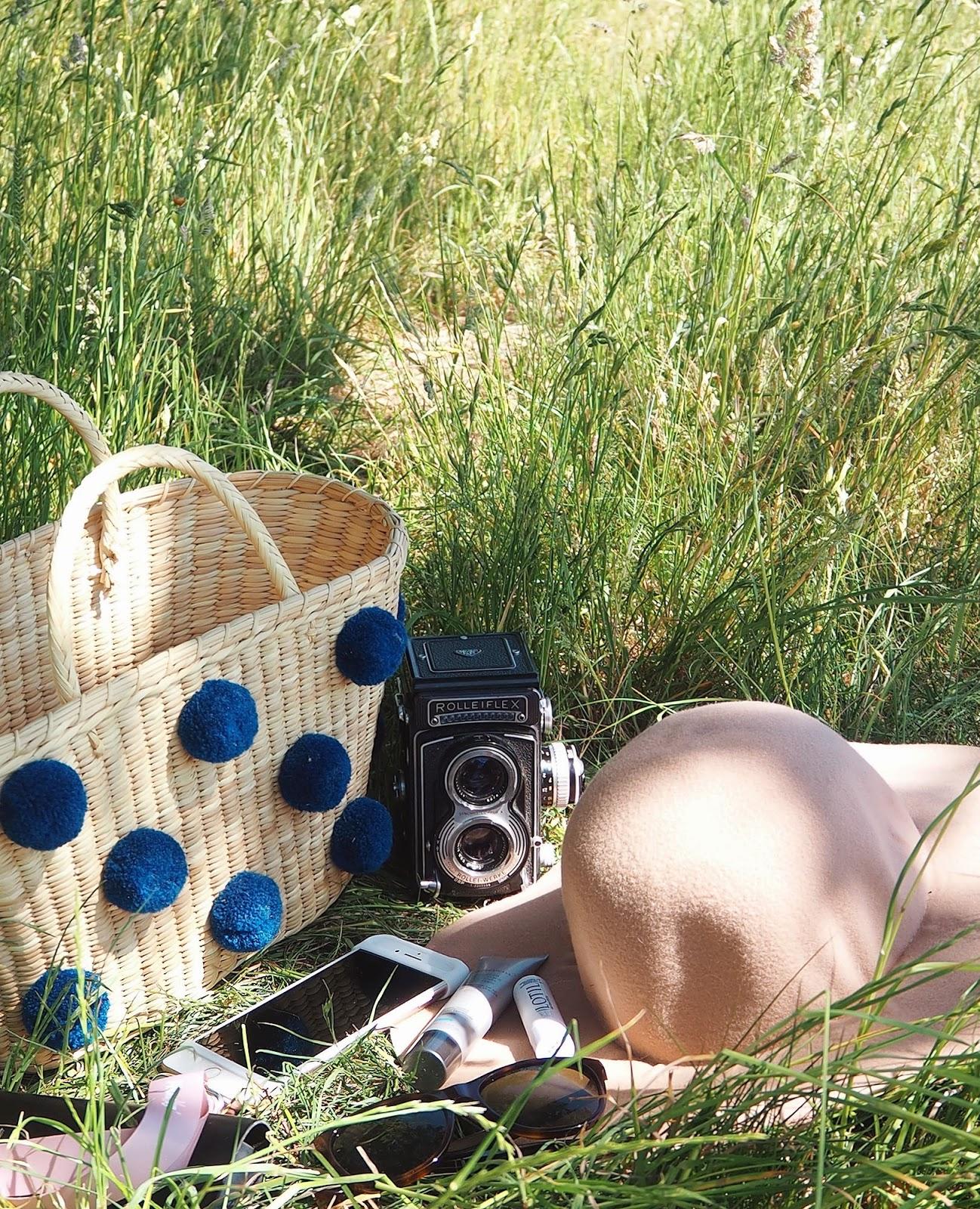 Essentials for summer time walks