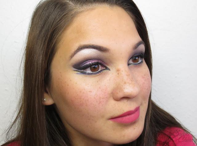 Look Battle   1001 Nacht Make-up