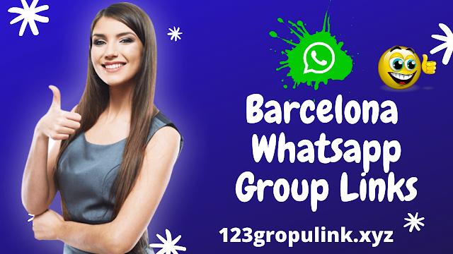 Join 700+ Barcelona Whatsapp group link