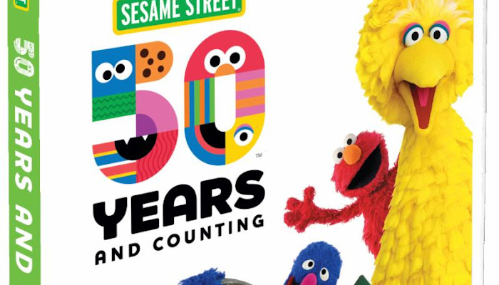 Sesame Street: 50 Years and Counting! Now Available on DVD and Digital Download ~ Enter to Win a DVD (3 Winners)!