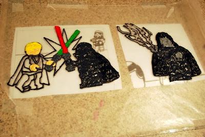 Sunshine And A Summer Breeze Lego Star Wars Birthday Cake