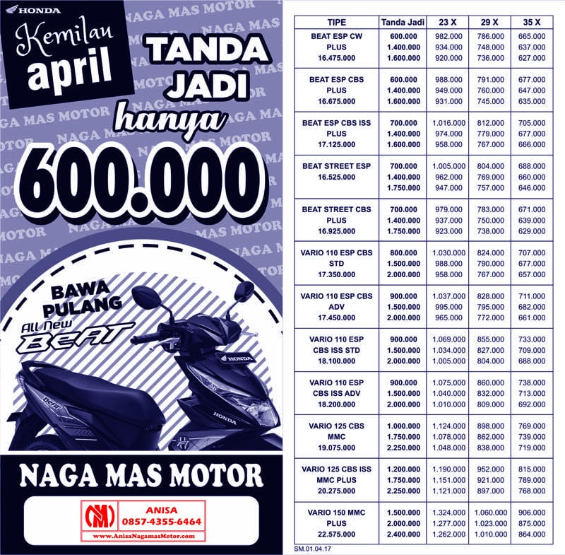 Promo Kemilau April 2017
