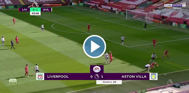 Liverpool vs Aston Villa Live Score