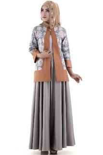 Busana batik muslim modis untuk kerja kantoran