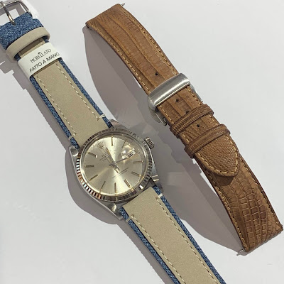 ベルト交換 時計ベルト  MORELLATO モレラート ROLEX ロレックス アンティークウォッチ
