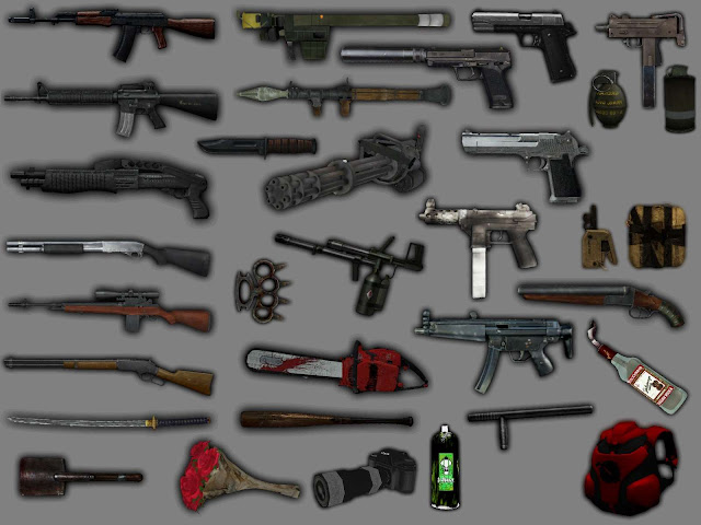 New Weapons Pack 2020 For GTA San Andreas Mod