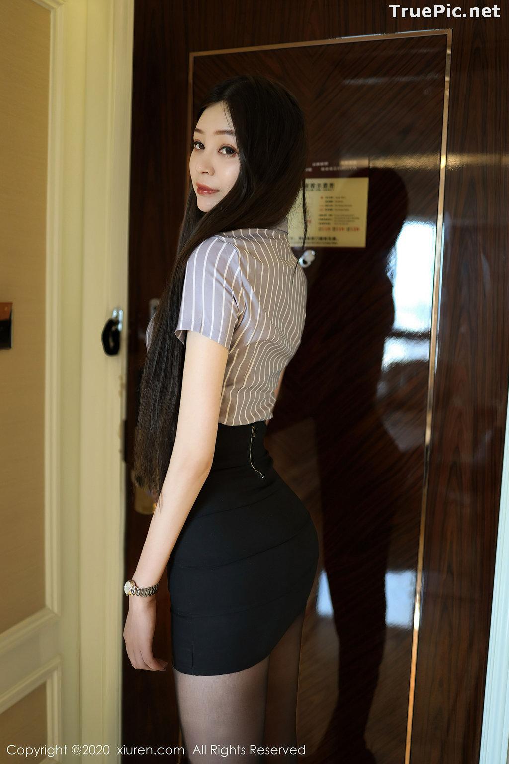 Image XIUREN No.2336 - Chinese Model - 樱花Elsa - Sexy Office Girl - TruePic.net - Picture-8