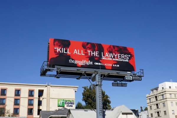 Good Fight season 2 billboard