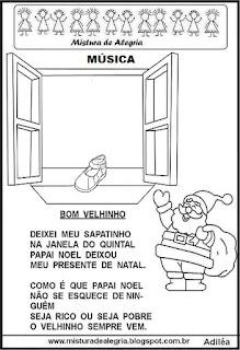Música de natal o bom velhinho