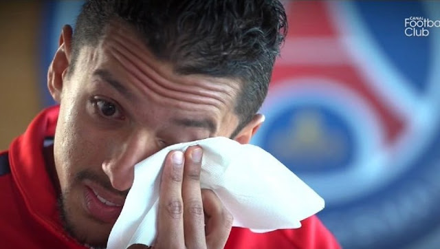 Marquinhos fond en larmes en évoquant son ami Lucas
