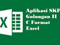 Aplikasi SKP Golongan II C Format Excel