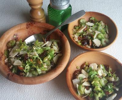 Celery Salad with Dates, Almonds, & Parmesan
