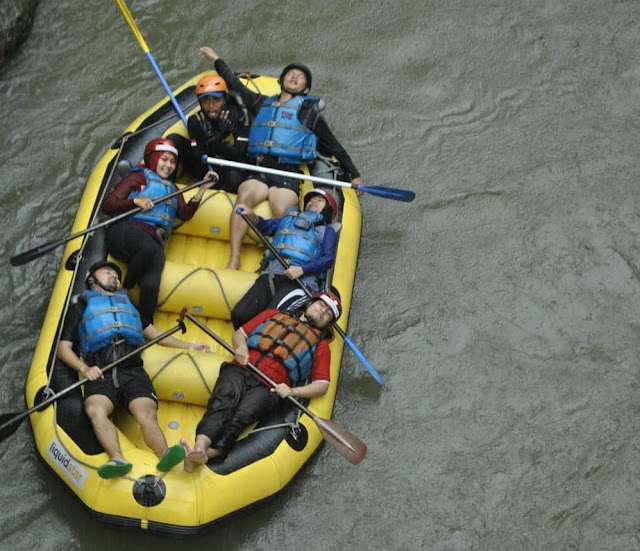 Paket wisata Puncak Arum Jeram Sungai Progo Magelang | paket wisata | harga tiket | alamat