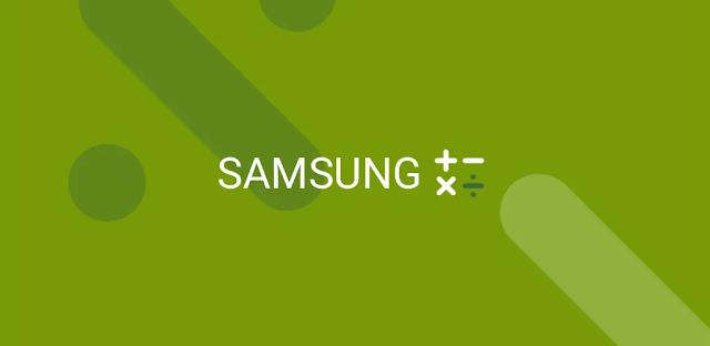 قم بتنزيل Samsung Calculator  - حاسبة Samsung الرسمية لنظام الاندرويد