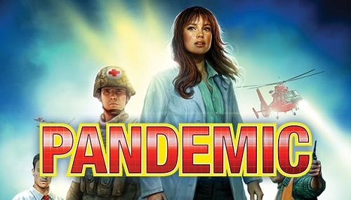 Fight diseases in Pandemic which is a board video game out now