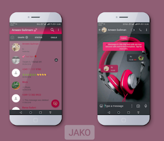 Headphone Theme For YOWhatsApp & Fouad WhatsApp By Jako
