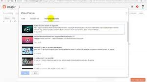 Blog Yazılarına Youtube Video Ekleme Nasıl Yapılır ?