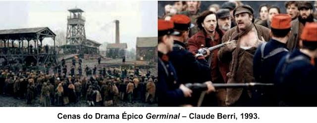 Cenas do Drama Épico Germinal – Claude Berri, 1993.