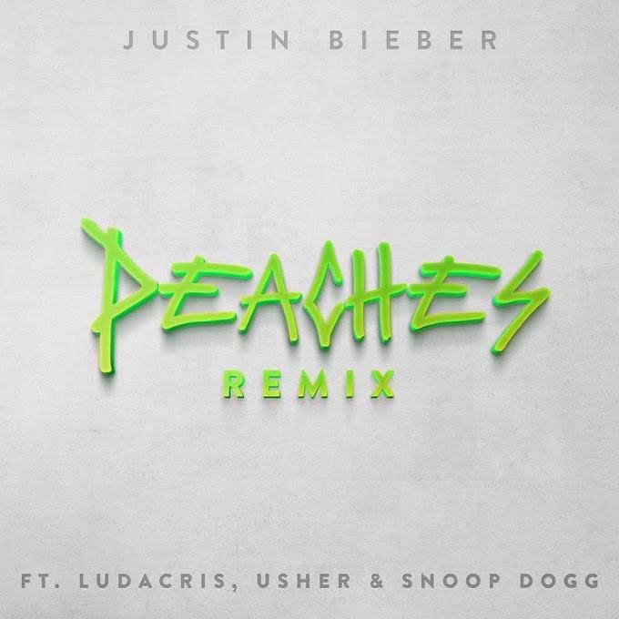 Justin Bieber, Ludacris, Snoop Dogg, Usher - Peaches (Remix)