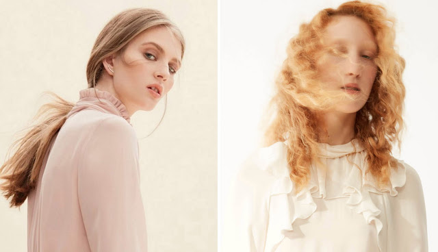 Белая блузка с оборками для романтика