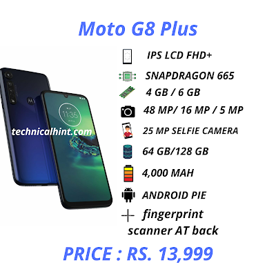 Moto G8 plus specifications