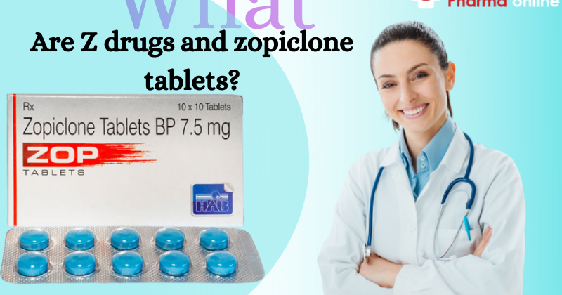 Buy Zopiclone tablets easily available online pharmacy site