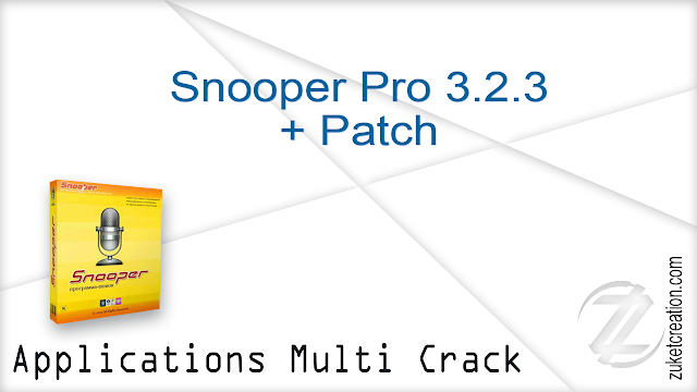 Snooper Pro 3.2.3 + Patch