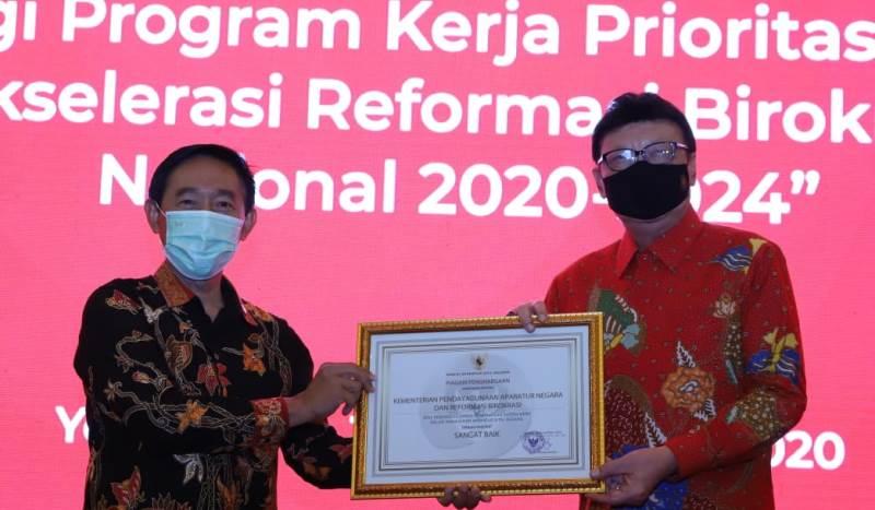 Kementerian PANRB Raih Kategori Sangat Baik Dalam Penerapan Sistem Merit