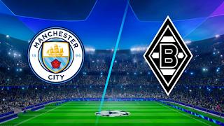 مشاهدة مباراة مانشستر سيتي ضد بوروسيا مونشنغلادباخ 16-3-2021 بث مباشر في دوري أبطال أوروبا