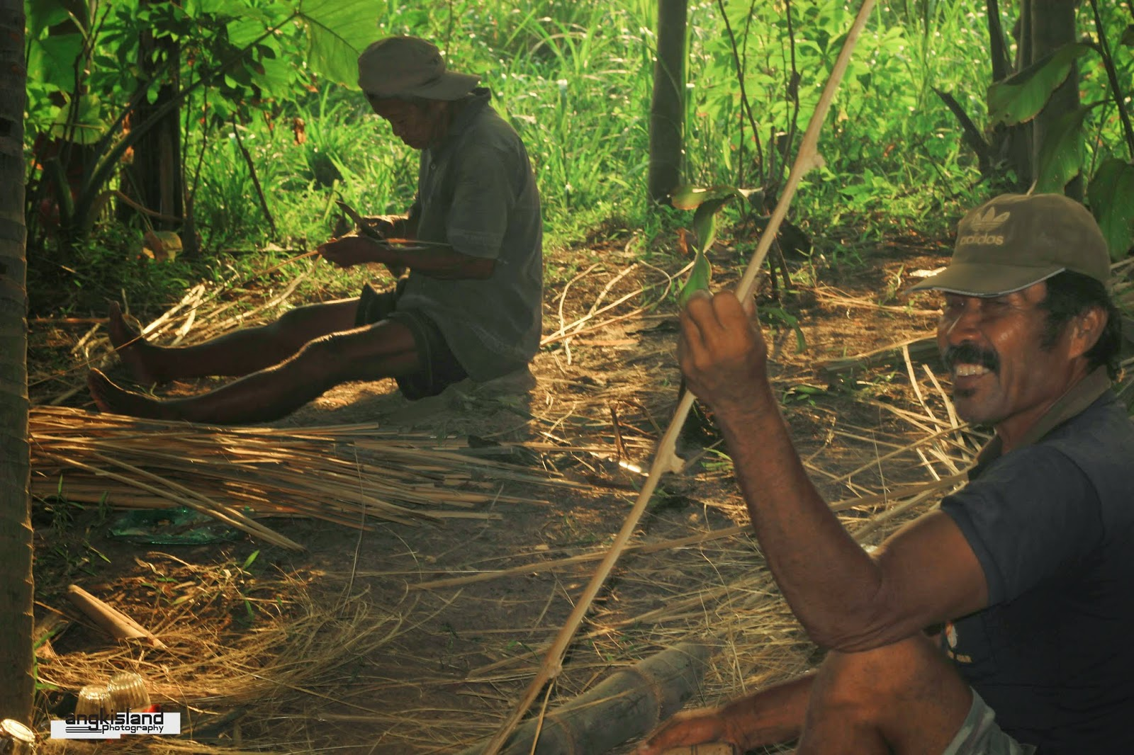 pengrajin jembatan bambu bantul
