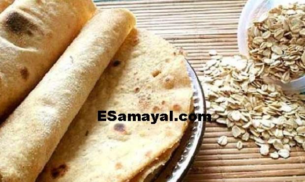 ஓட்ஸ் டயட் ரொட்டி செய்வது எப்படி? | How Make Oats Diet Bread !