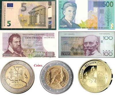 Countries and Currency Belgium Euro