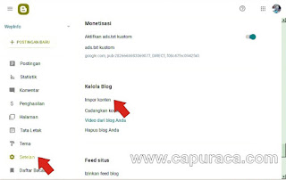 Migrasi dari Wordpress ke Blogspot