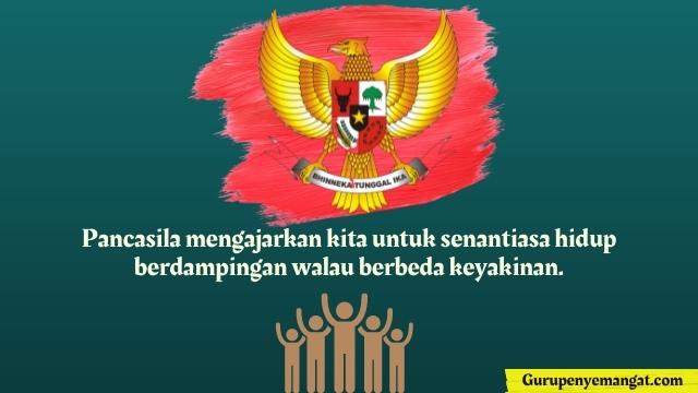 Kata-kata Mutiara Tentang Hari Kesaktian Pancasila 1 Oktober