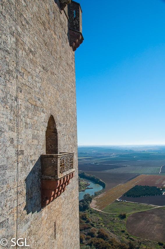 Castillo de Almodovar es Altojardin. Cordoba