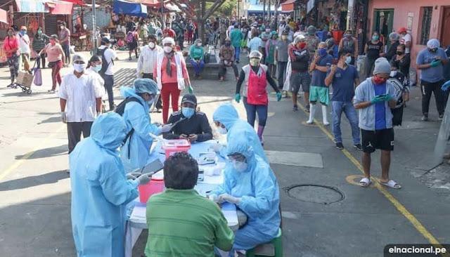 Más de 10 mercados en Lima son focos de contagio de Covid-19, según el Minagri
