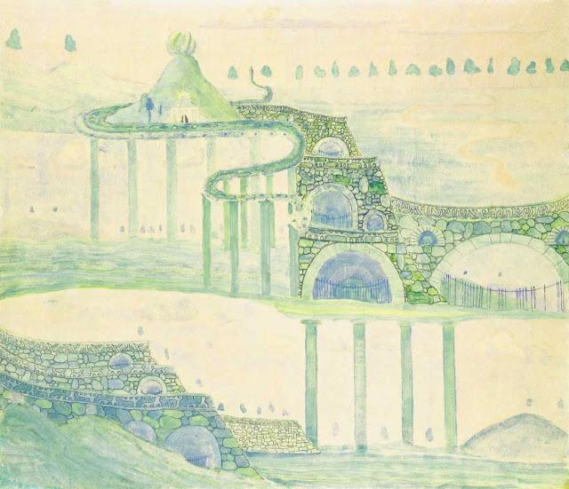 Чюрлёнис Микалоюс Константинас - Аллегро (Соната змеи). 1908