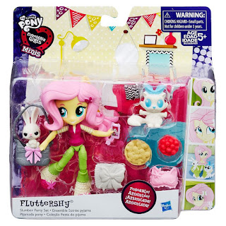 MLP Equestria Girls Mini Fluttershy Slumber Party Set