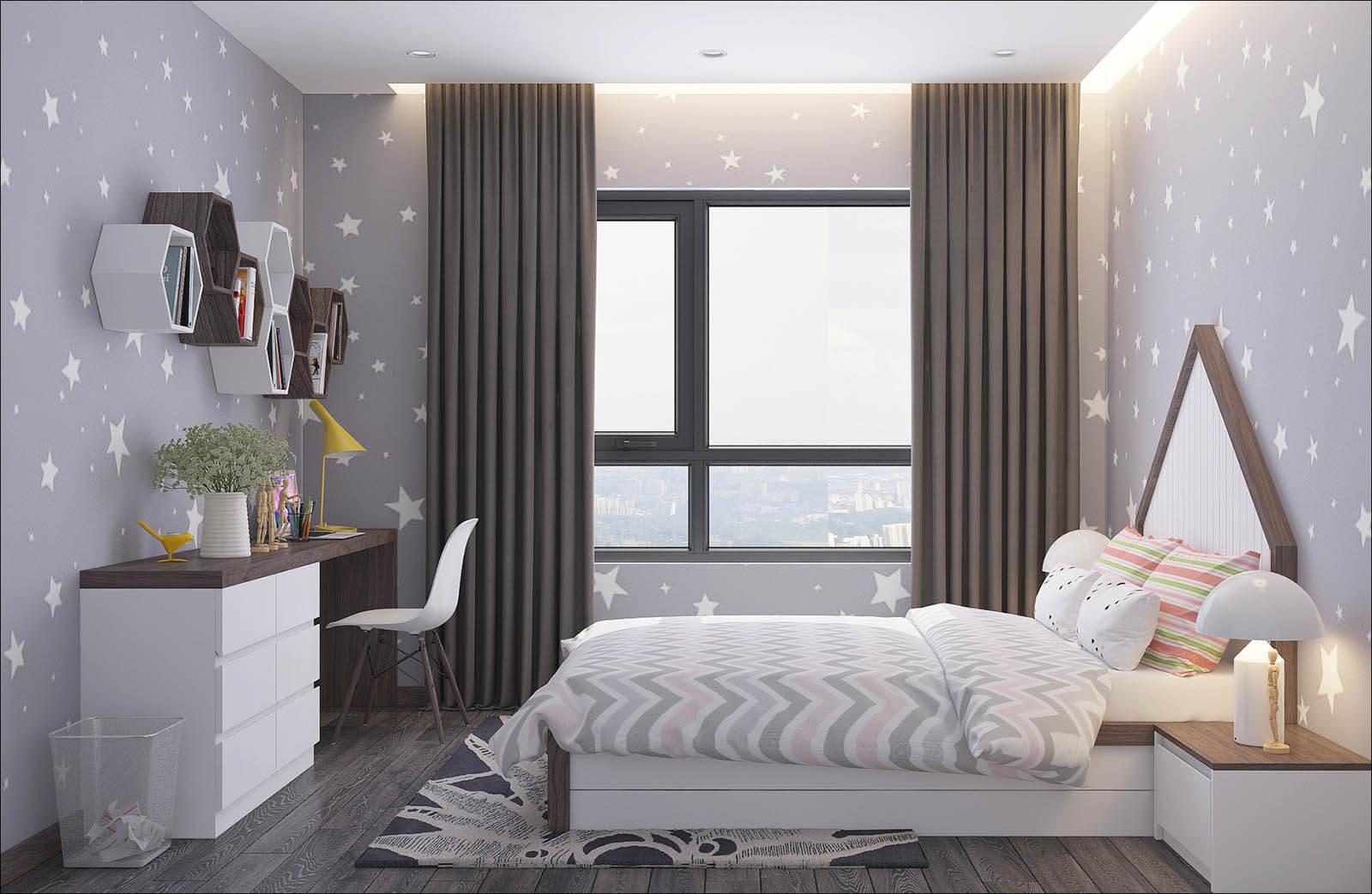 Phòng ngủ dự án số 1 Trần Thủ Độ