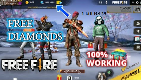 Free Fire Me Unlimited Diamond Kaise Add Kare Free Me