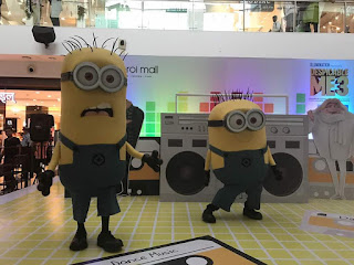 Meet & Greet with Minnions at Oberoi Mall