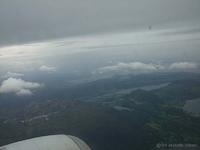 Flyturen til Stavanger i 2010.