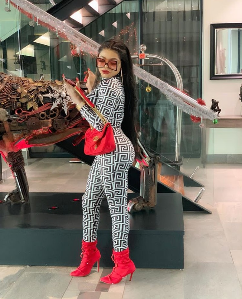 Bobrisky Gender Tranformation: See 'surgery results' After His Liposuction Procedure To Have A Perfect Body (Watch Video)