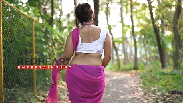 Saree Fashion || Bengal Beauty || Ayesha Pink Saree Look || Saree Photoshoot